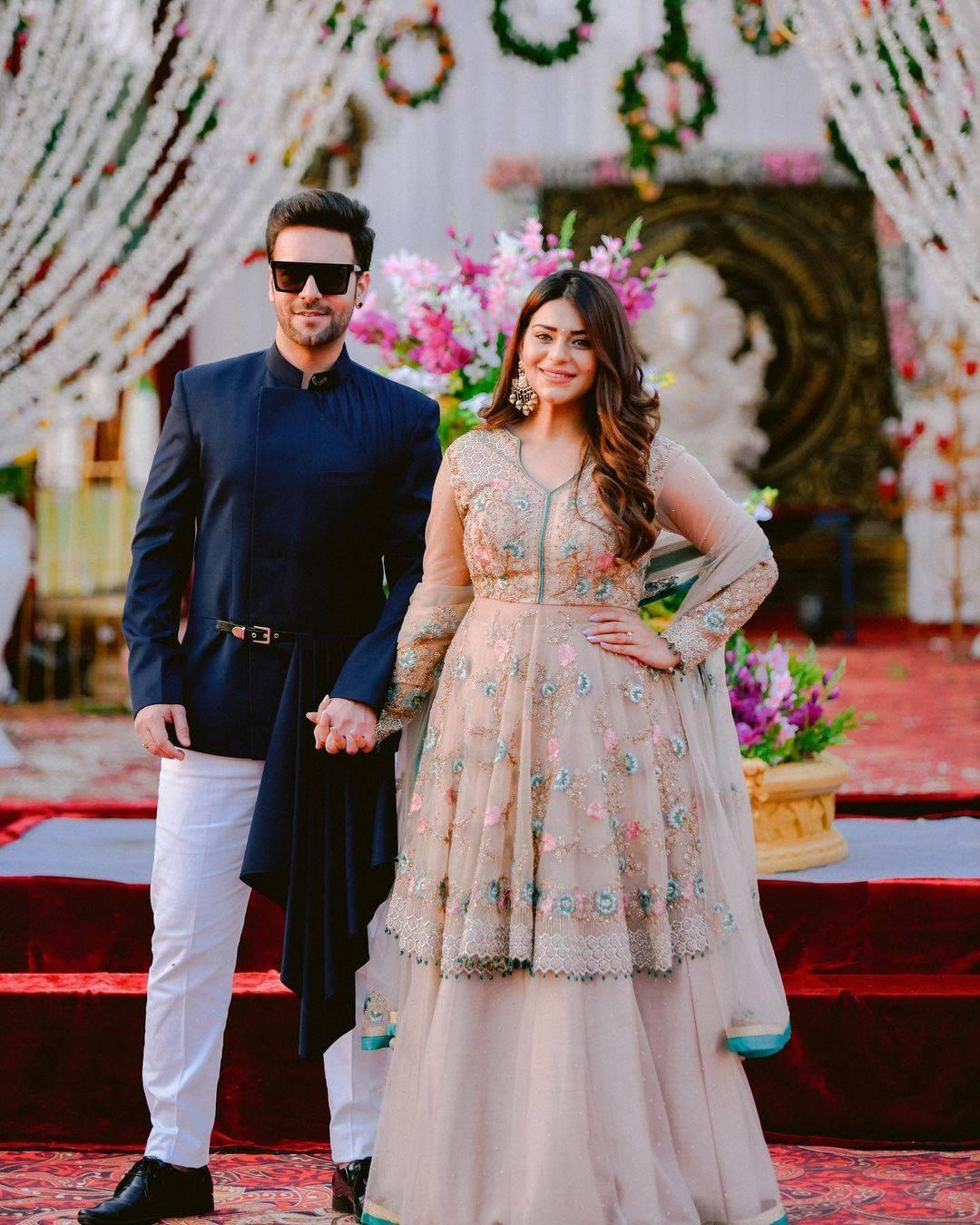 Sanjay Gagnani and fiancée Poonam Preet
