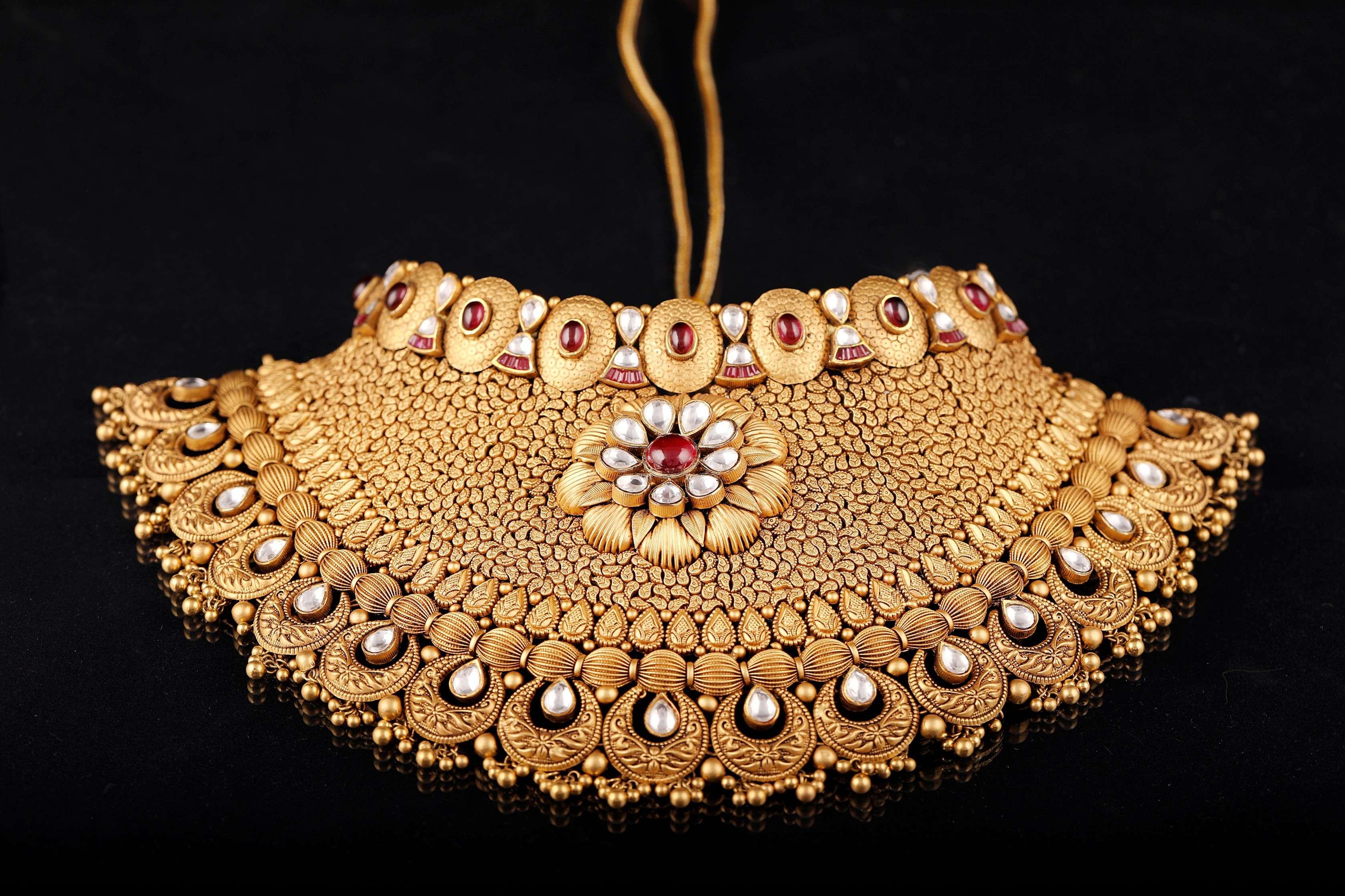 Indian Bridal Choker - PP Jewellers