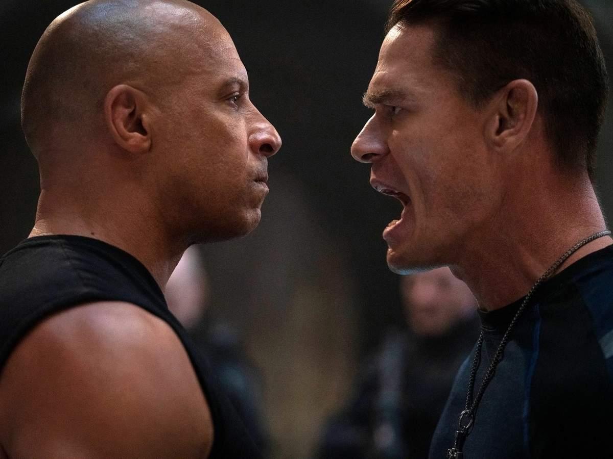 Vin Diesel and John Cena