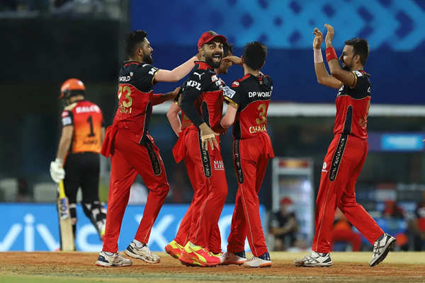 IPL 2021: Best pictures from Sunrisers Hyderabad vs Royal Challengers Banglore match