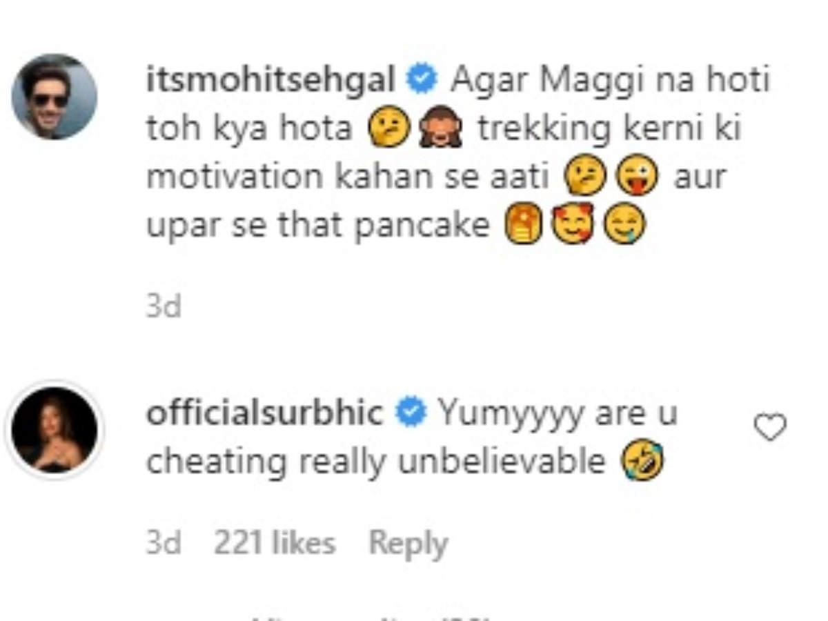 Surbhi comment