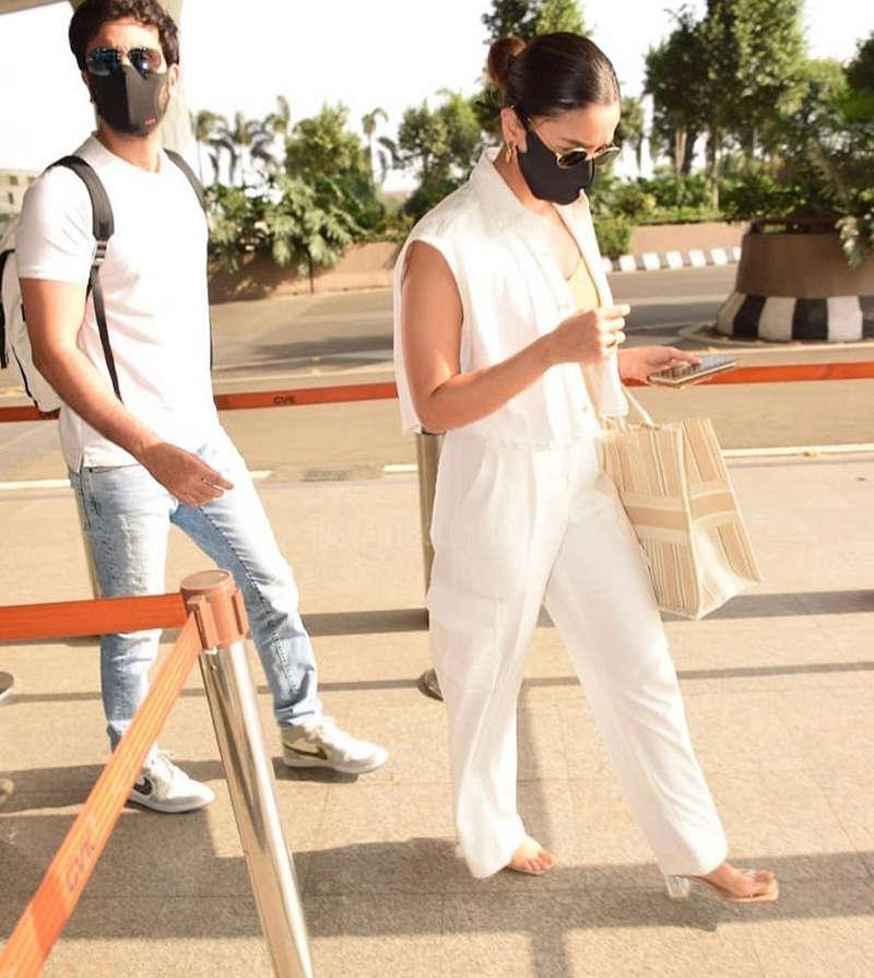 Post recovering from COVID-19, Alia Bhatt and Ranbir Kapoor jet off for Maldives vacation