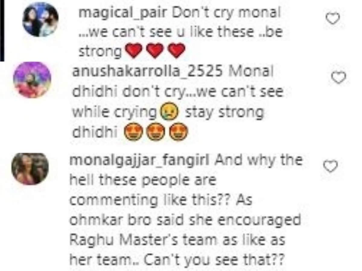 Netizens on Monal Gajjar