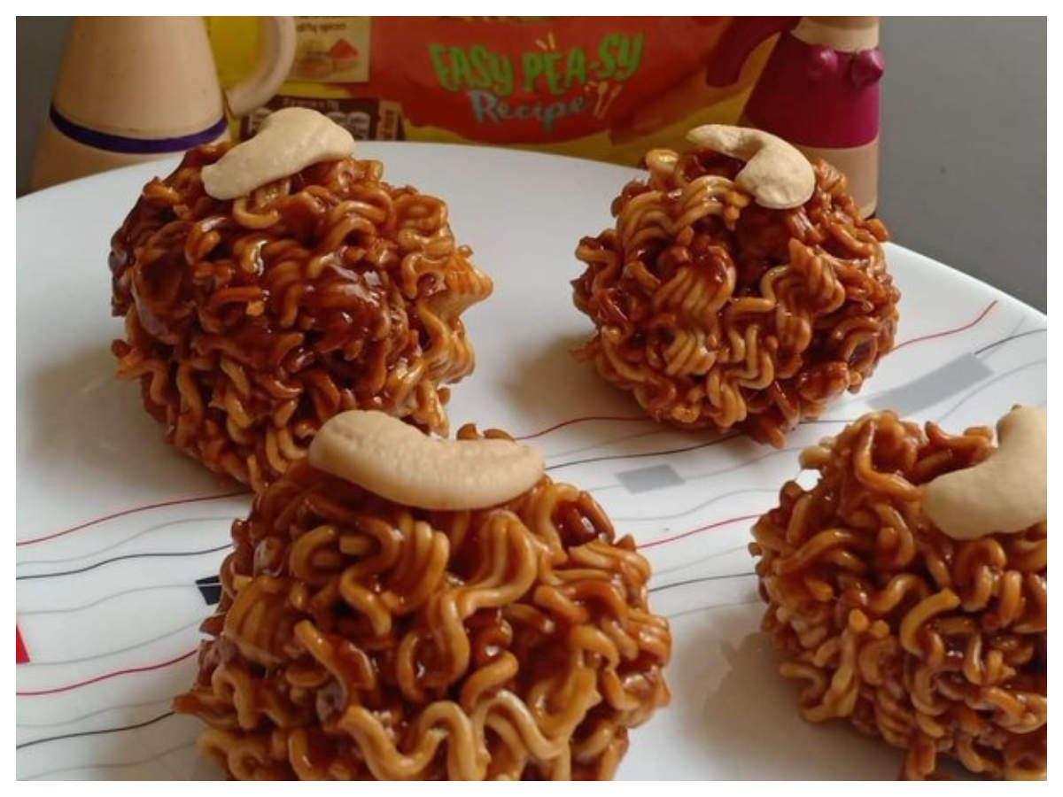 Maggi Laddoo recipe goes viral, internet is shocked