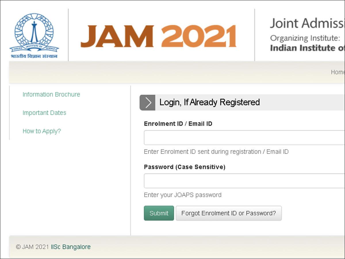 Alert: JAM 2021 registration begins today; check details here
