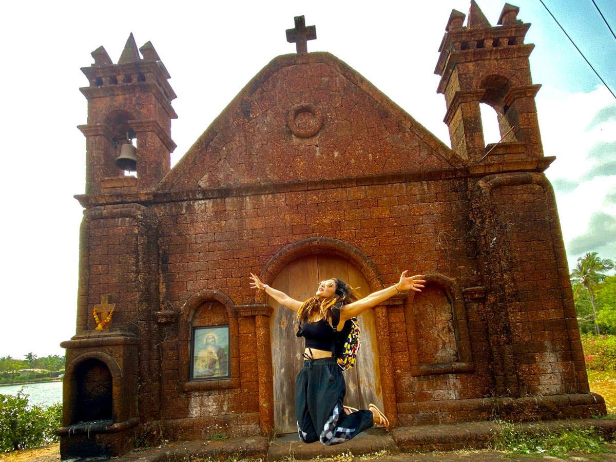 Pooja in Goa