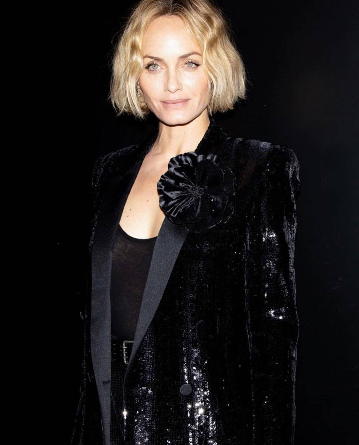 American model Amber Valletta fights for ocean's seafood contamination