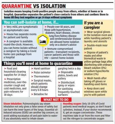 quarantine vs isolation
