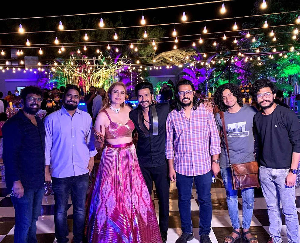 Unseen pictures from Jwala Gutta and Vishnu Vishal's intimate wedding ceremonies