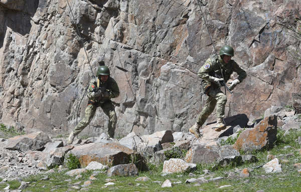 India, Kyrgyzstan hold military drills