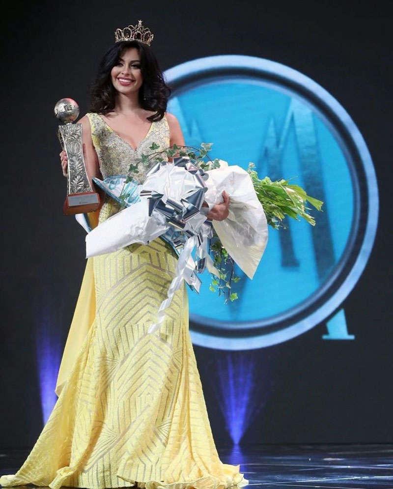 Aryam Diaz Rosado selected as Miss World Puerto Rico 2021