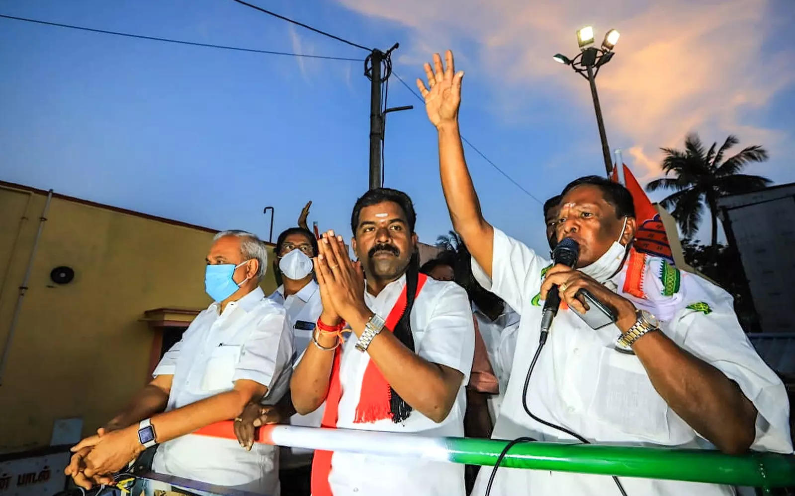 Exit polls unreliable, misleading, says Narayanasamy