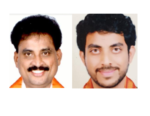 Father-son duo elected to Puducherry assembly