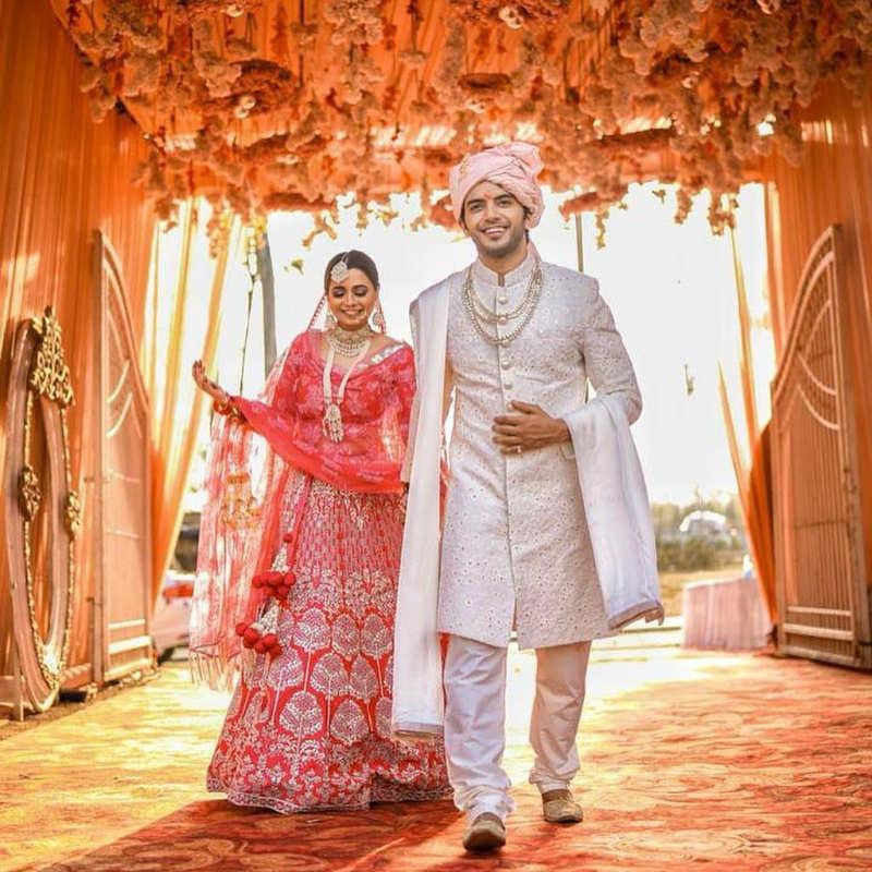 Inside pictures from 'Yehh Jadu Hai Jinn Ka!' actor Vikram Singh Chauhan and Sneha Shukla's wedding ceremony