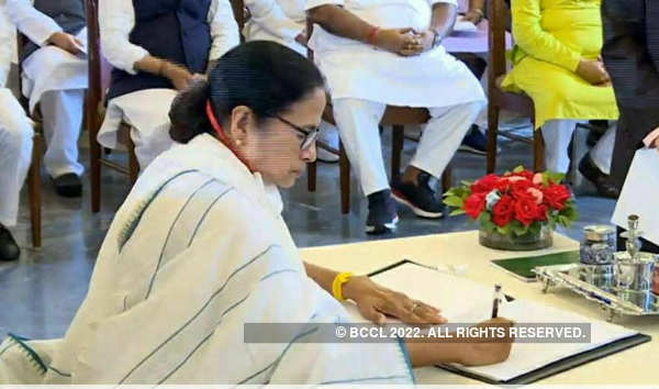 Mamata Banerjee takes oath as Bengal CM