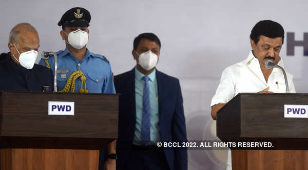 M K Stalin sworn in as Chief Minister of Tamil Nadu
