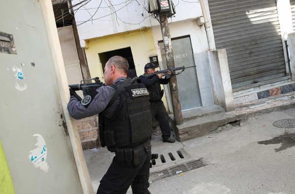 Brazil: At least 25 killed in Rio de Janeiro shootout