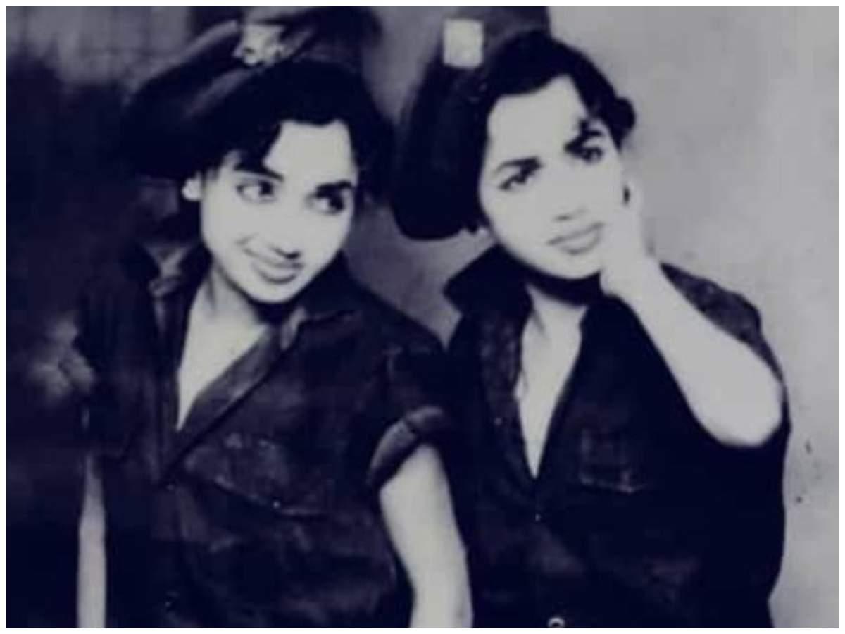 Actor Sharan's mothers - Radha and Rukmini