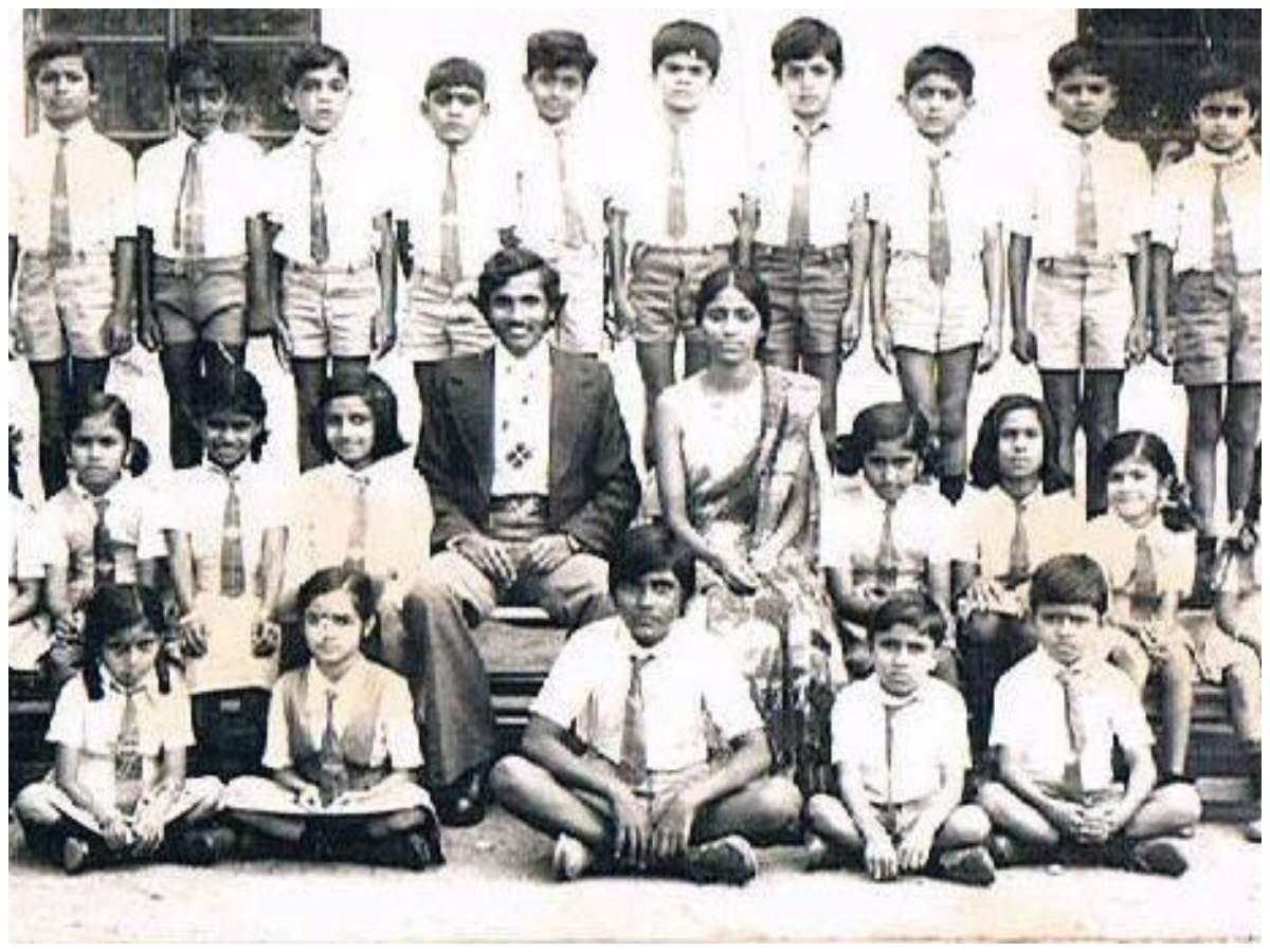Actor Sharan in school