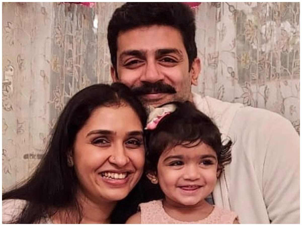 Anu Prabhakar Mukherjee with her family