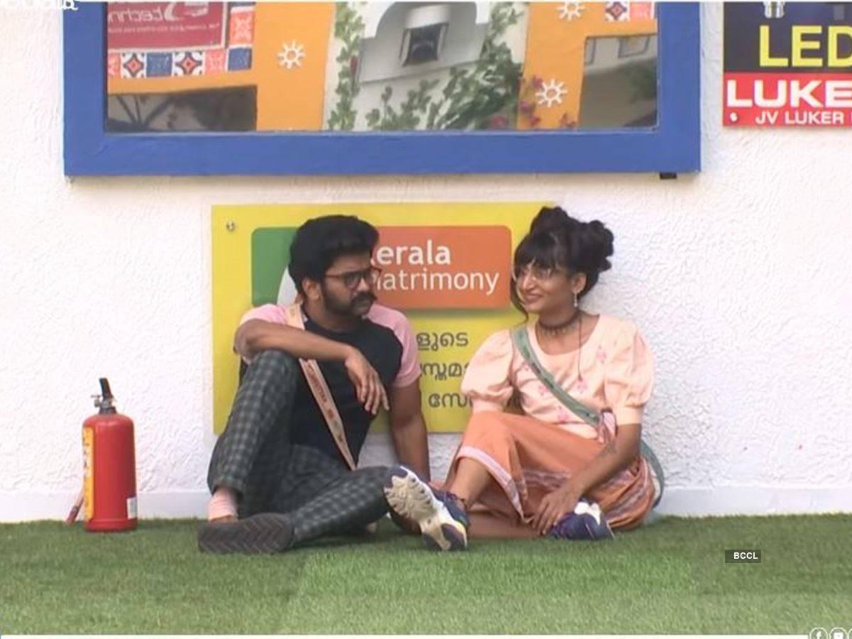 Dimpal and Kuttumani