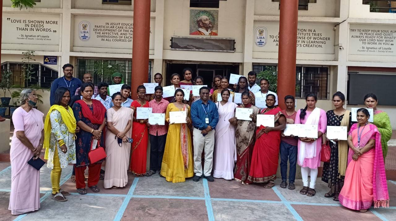 30 transgender students awarded certificates by LIBA for completing its skill course