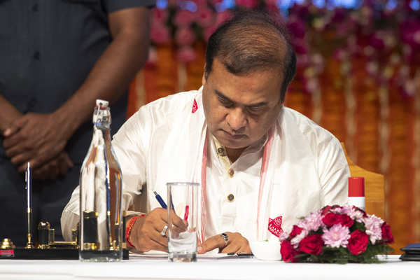 Himanta Biswa Sarma takes oath as Assam chief minister
