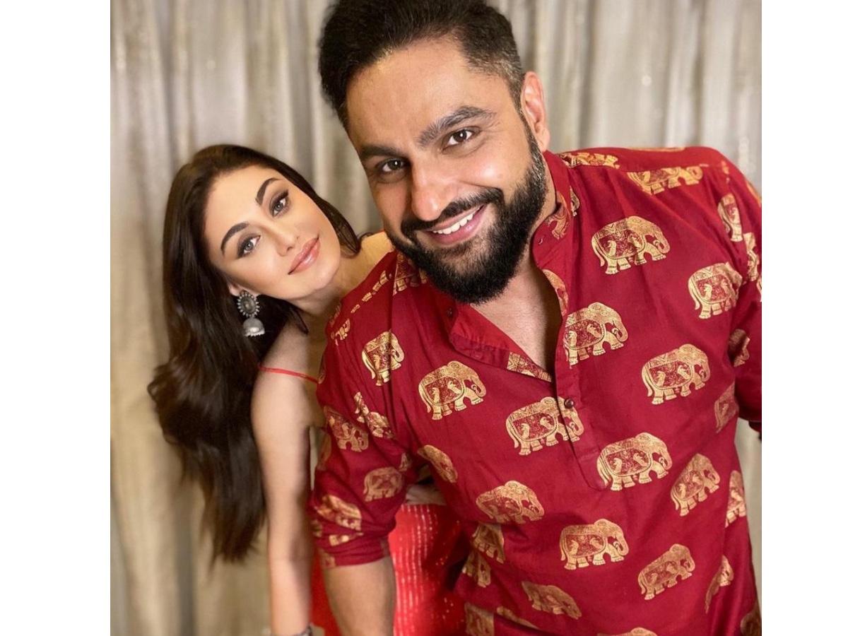 Shefali Jariwala and husband Parag