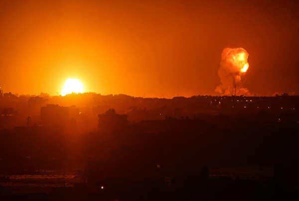 Israeli airstrikes leave 24 Palestinians dead