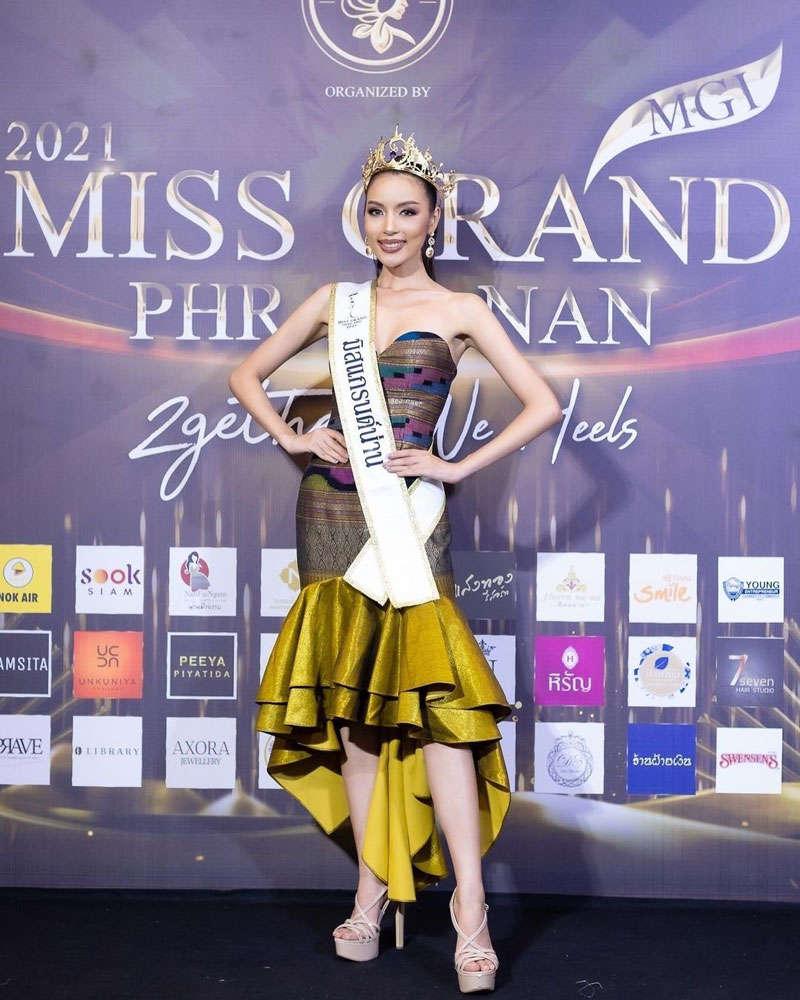 Kanyaphatsaporn Rungruang chosen as Miss Grand Nan 2021