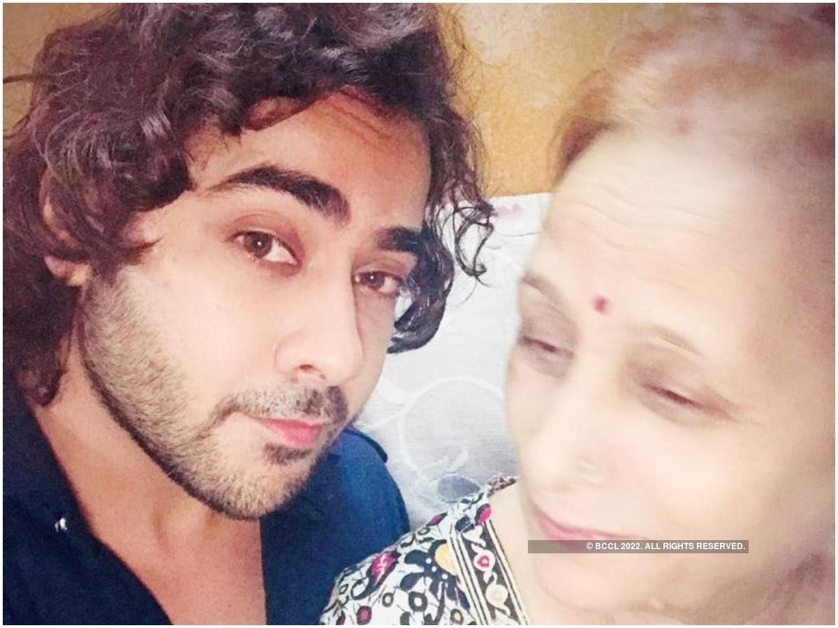 Wourship with his grandmother