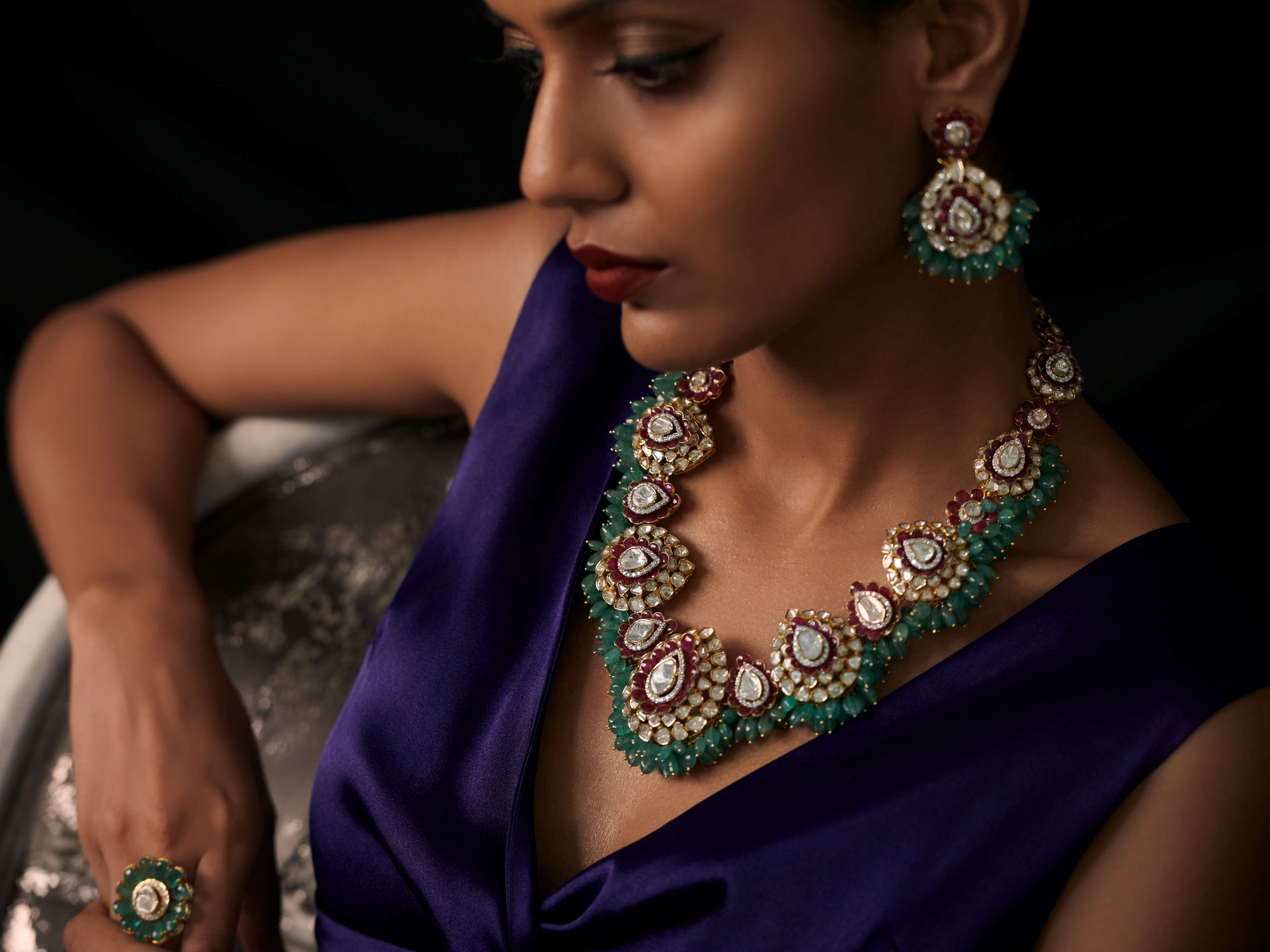 'Modern Vintage' collection available at Jewellery Designer Archana Aggarwal  (1)