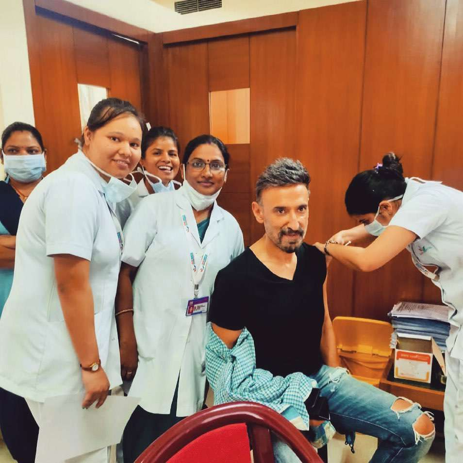 Rahul took first shot of vaccine at a hospital in Delhi more than a month ago