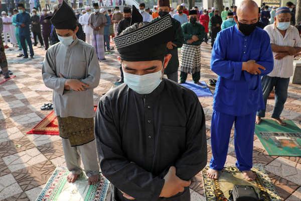 Muslims celebrate Eid amid Covid-19 measures
