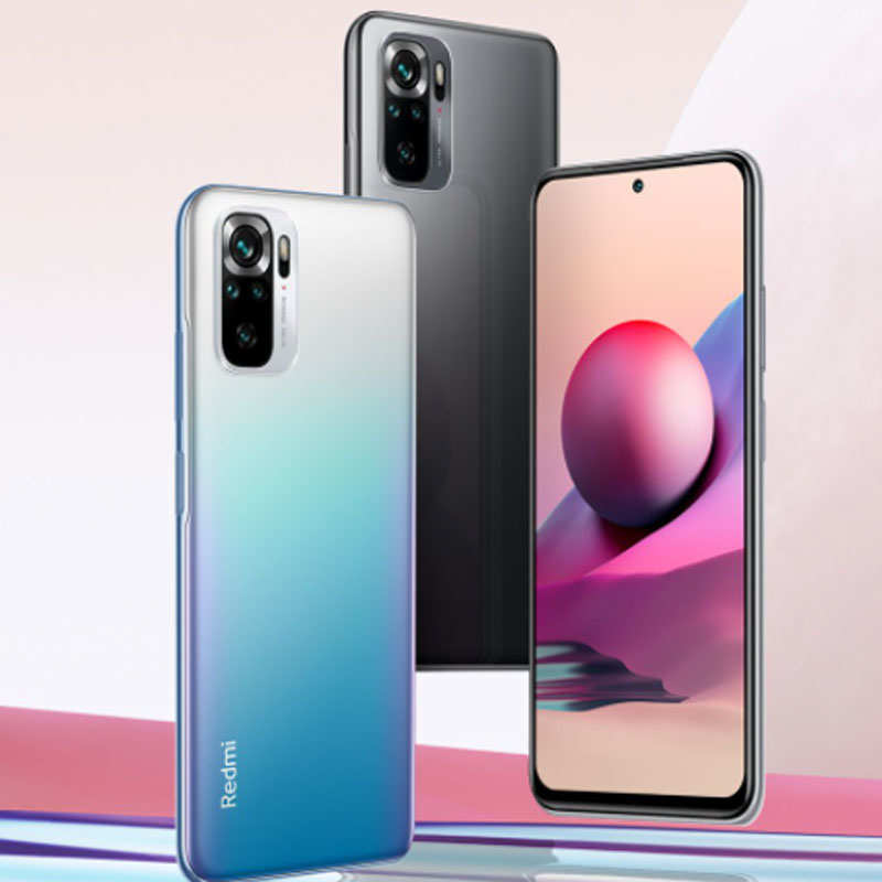 Redmi Note 10S smartphone launched