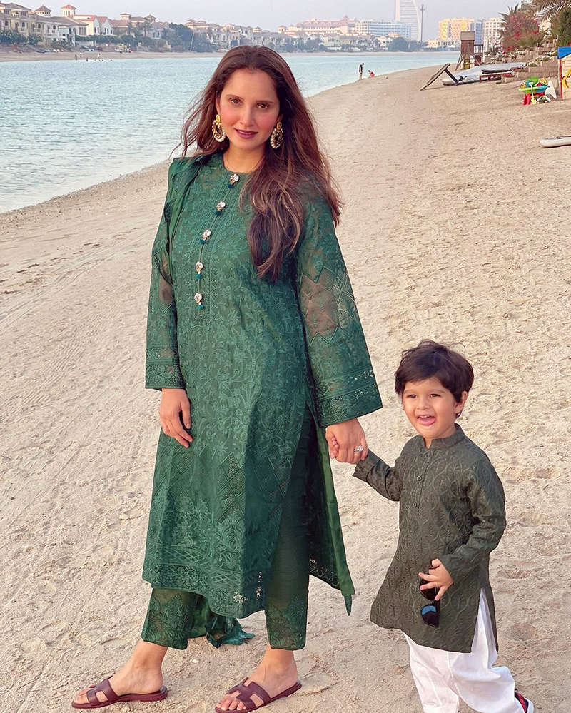 Unmissable pictures from Sania Mirza's Eid celebrations