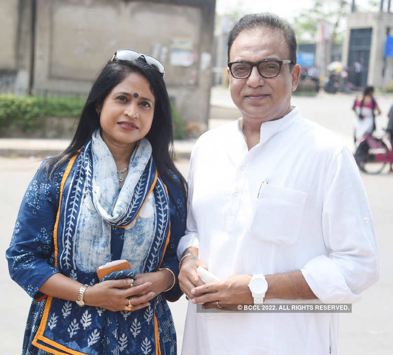 Starry turnout on Election Day in Kolkata