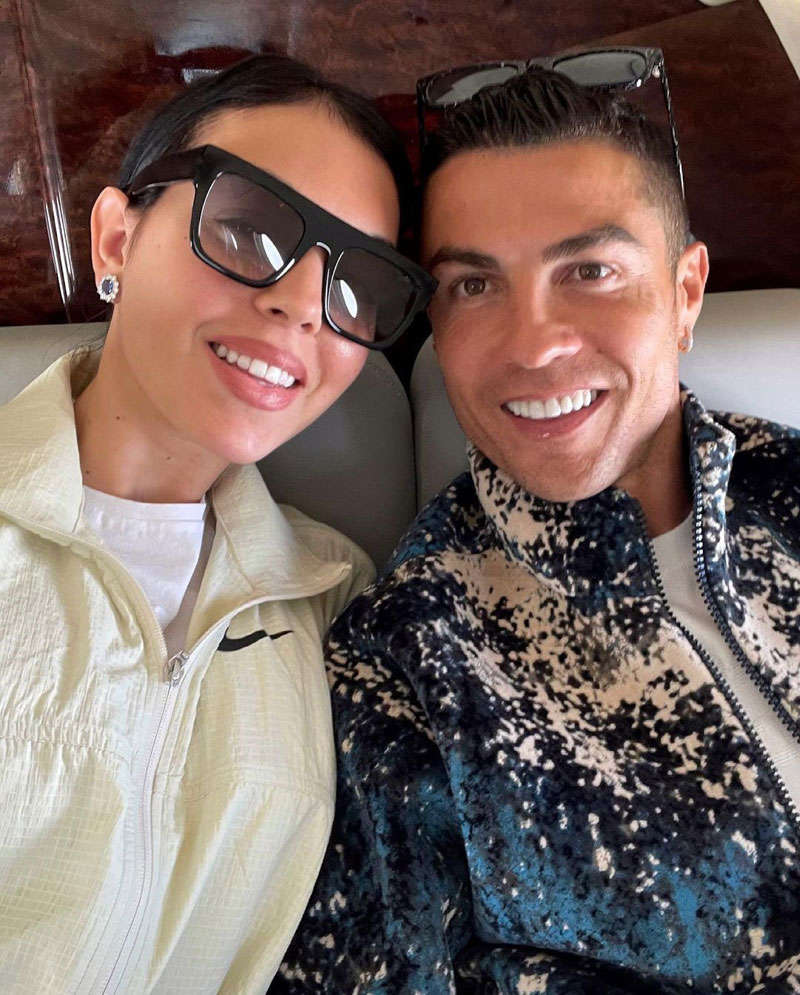 Unmissable pictures of Cristiano Ronaldo's girlfriend Georgina Rodriguez