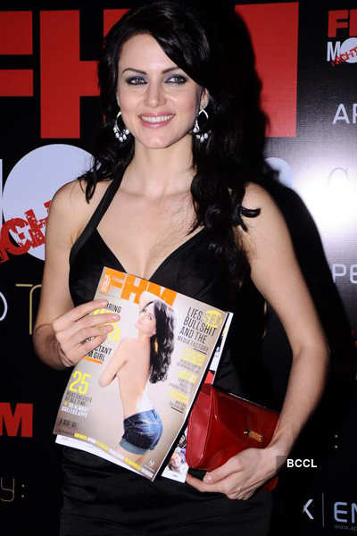 Yana at FHM mag cover launch