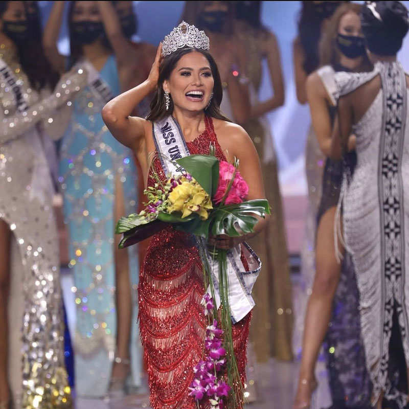 Miss Mexico 2020 Andrea Meza crowned Miss Universe 2020