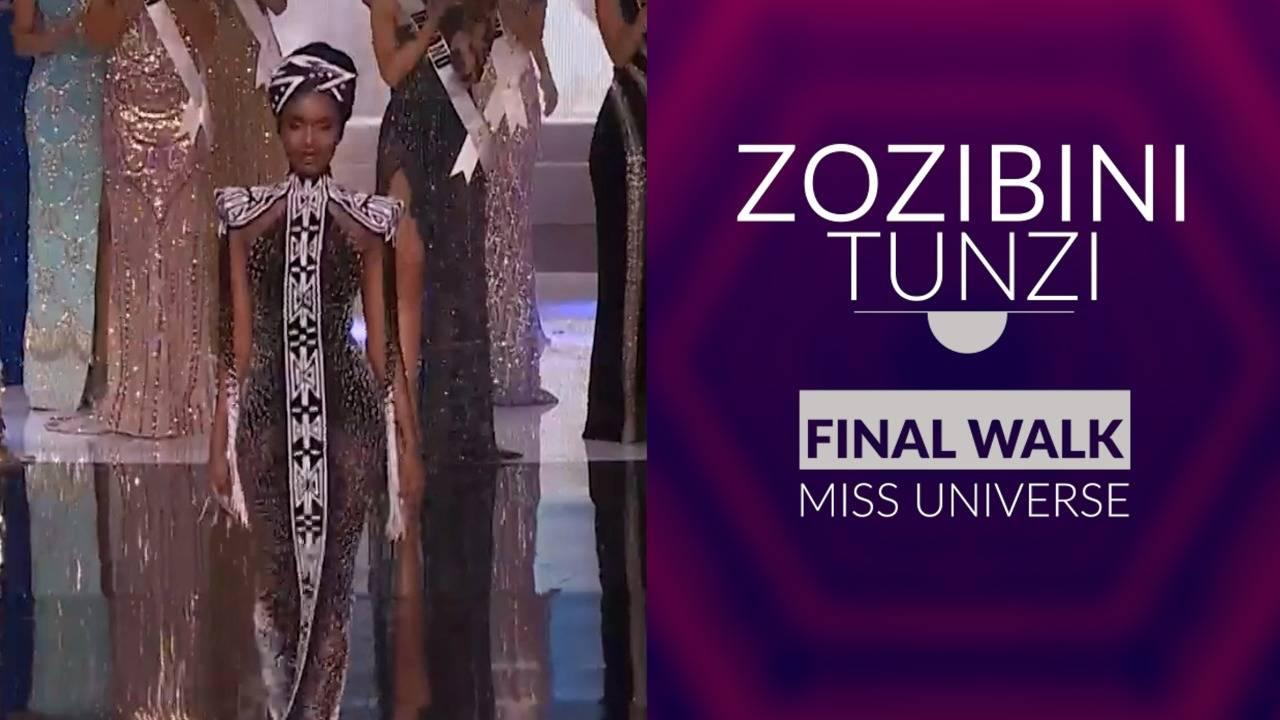 Zozibini Tunzi Owning The Ramp Like A Queen!