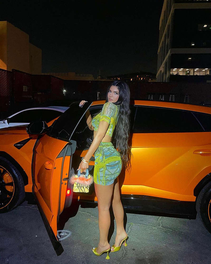 Viral photos of Kylie Jenner, 'The Youngest Self-Made Billionaire Ever'