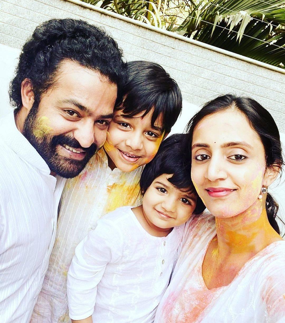 jr ntr family