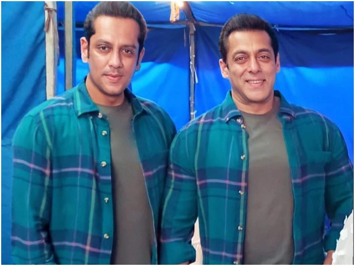 Parvez Kazi and Salman Khan