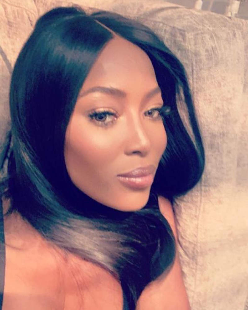 Naomi Campbell shares first picture of her baby girl