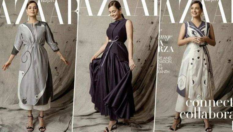 Dia Mirza graces the anniversary special cover of Harper's Bazaar; talks about being a nature advocate