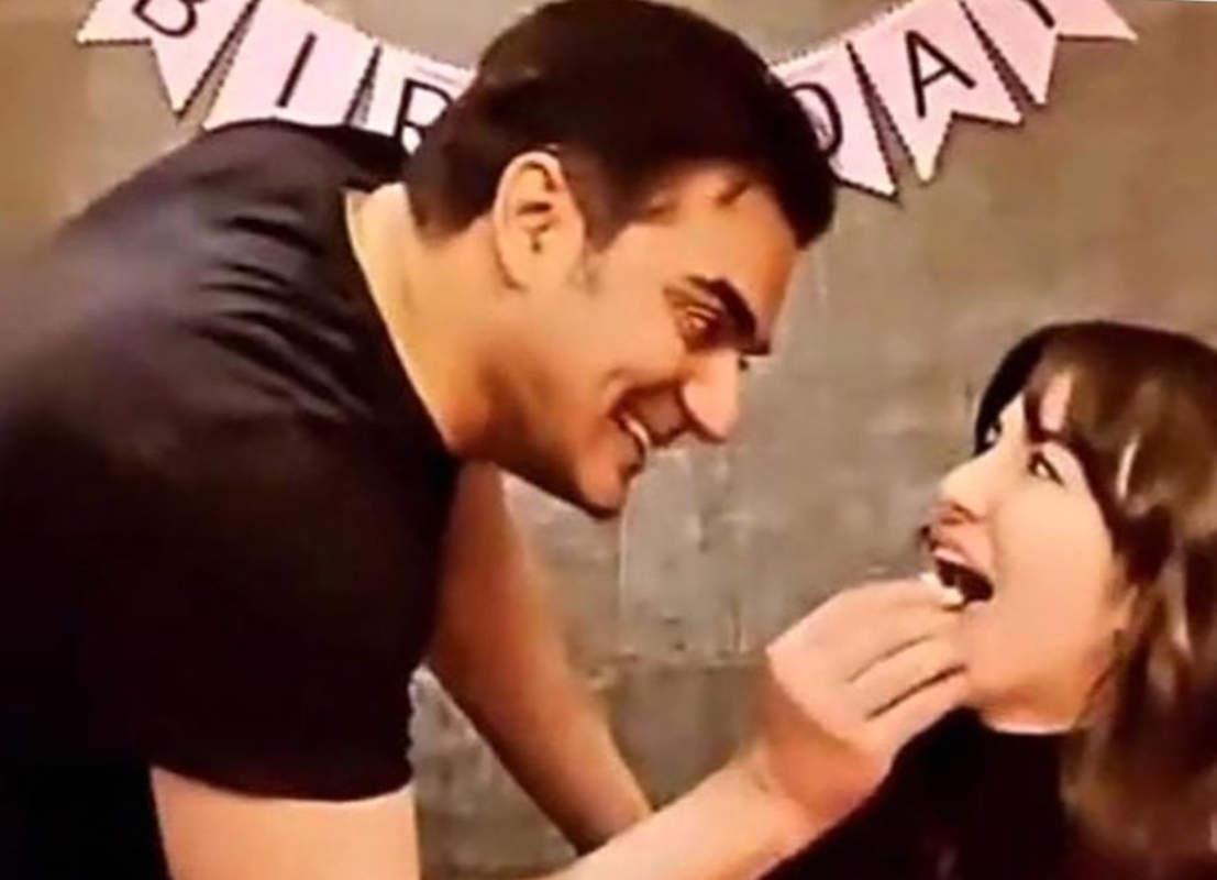 Lovely pictures of Arbaaz Khan celebrating girlfriend Giorgia Andriani's birthday