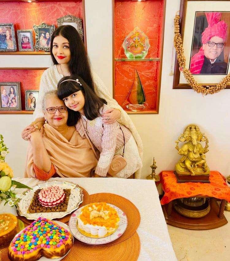 Aishwarya Rai hosts an intimate yet grand celebration for her mom's 70th birthday!