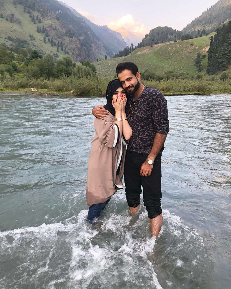 This blurred picture of Irfan Pathan's wife goes viral; former Indian cricketer gets trolled