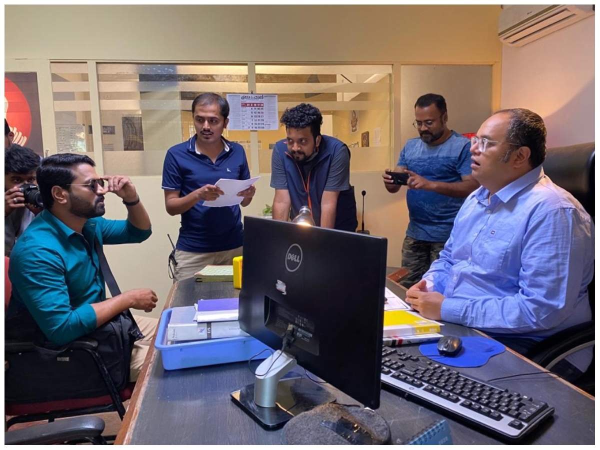 Karan Ananth and Anirudh Mahesh on duty